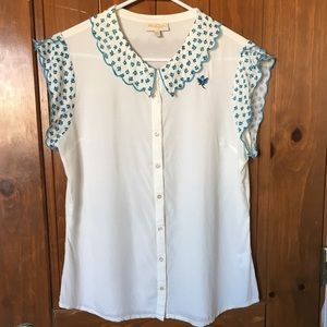 Large ModCloth Button up Blouse